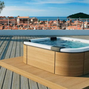 Masažinis baseinas Jacuzzi Santorini