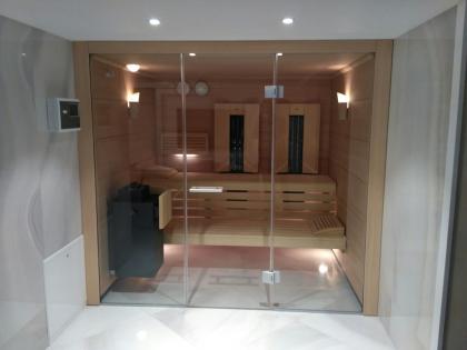 Klafs saunos ir infraraudonųjų spindulių kombinacija