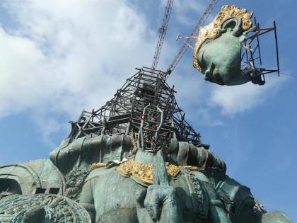Didžiausias Sicis įmonės projektas – Garuda Wisnu Kencana parke!