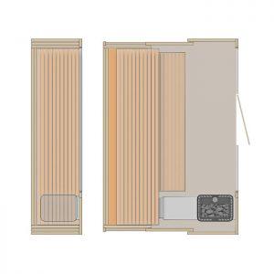 i va iuojama kompakti ka klafs sauna s1 sanilux. Black Bedroom Furniture Sets. Home Design Ideas