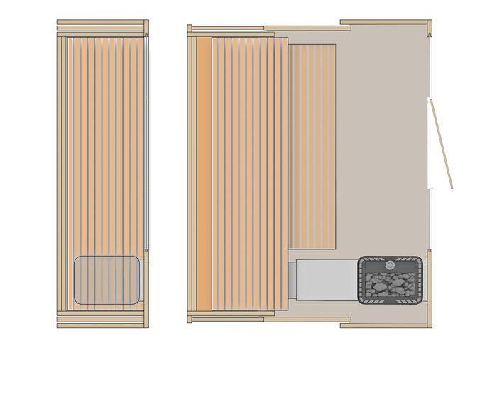 premjera klafs sauna s1 sanilux. Black Bedroom Furniture Sets. Home Design Ideas